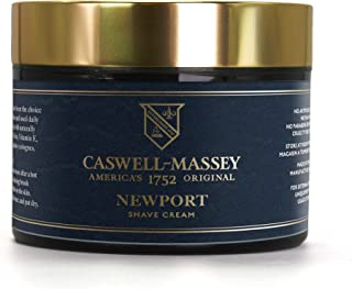 product image for Caswell-Massey Newport Barber-Style Non-foaming Shave Cream, Smooth Men's Shaving Cream Fights Nicks, Cuts and Razor Burn Heritage Newport Scent