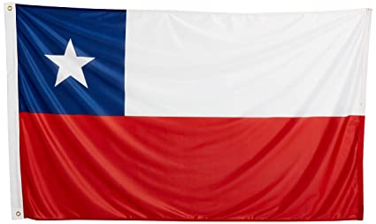 amazon com us flag store chile flag 3ft x 5ft superknit polyester