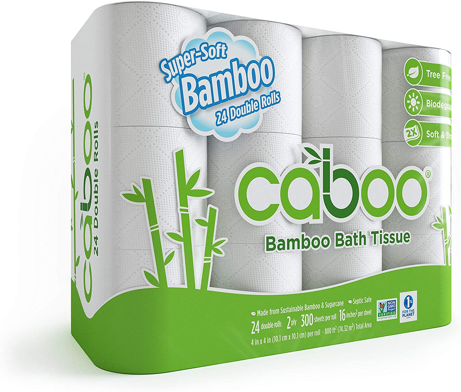 Caboo Tree Free Bamboo Toilet Paper