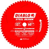 Diablo D1260CF 12-inch Steel Demon 60T Cermet II Carbide Ferrous Metal Saw Blade