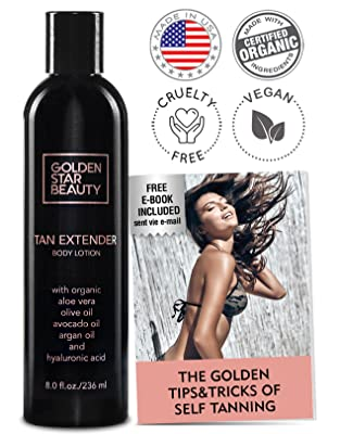 ​​Golden Star Beauty Tan Extender Daily Moisturizer