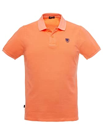 Blauer Polo uomo17sblut02120 a02835 048 Naranja Fluo 048 Arancio ...