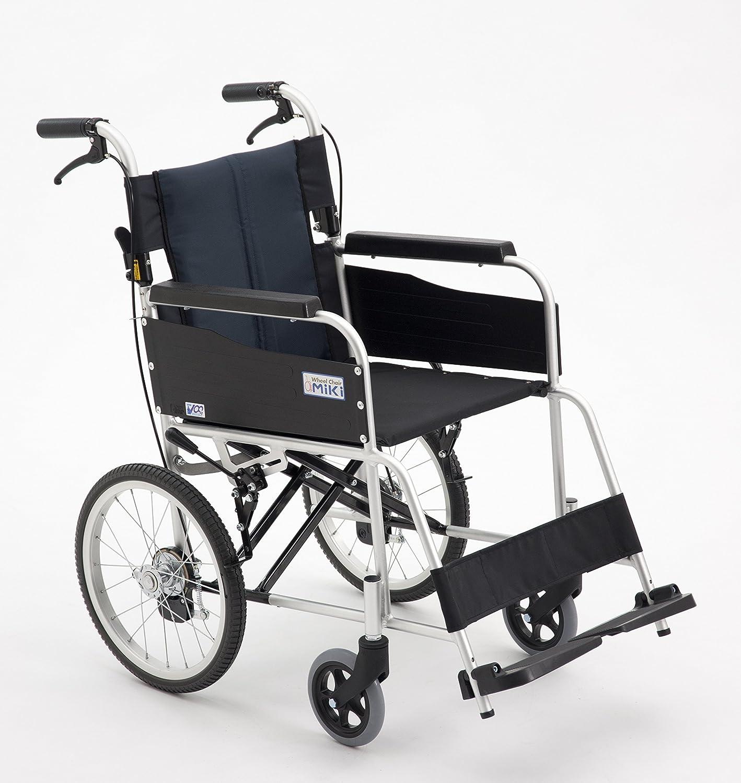 【MIKI/ミキ】新発売 軽量アルミ製 折り畳み 介助式 ハイポリマー式 車椅子 USG-2 B075L3C3J3