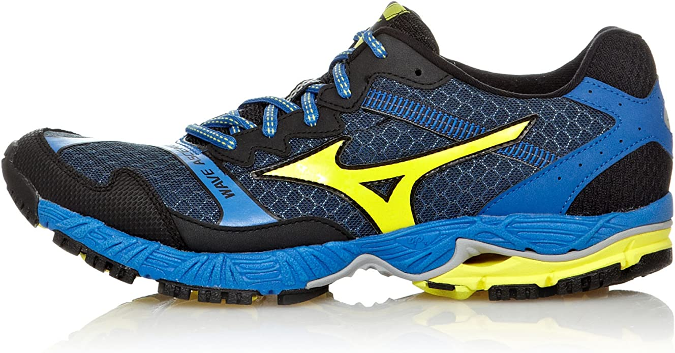 Mizuno Zapatillas Running Wave Ascend 8 Azul/Morado/Antracita EU 42 (UK 8): Amazon.es: Zapatos y complementos