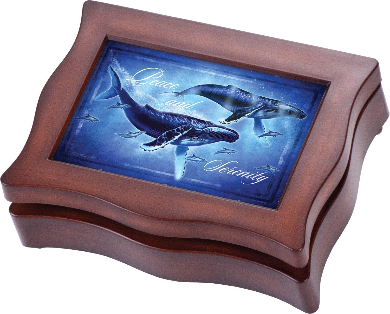 【70%OFF】 Whales平和とSerenity Cottage Cottage B00KY7B56M Gardenダーク木目仕上げデジタルNatureサウンド録音記念品ボックス B00KY7B56M, ブランドショップ Reine:06c965fb --- arcego.dominiotemporario.com