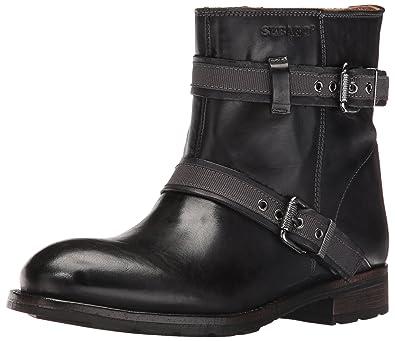 Sebago Women's Laney Mid Boot, Black Leather, ...