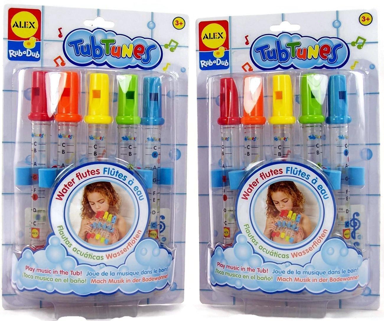 ALEX Toys Cuckoo Ltd TubTunes Bathtime Fun Water Flutes 2 Pack