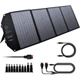 EnginStar 100W Foldable Solar Panel Charger with 18V DC Outlet for Portable Power Stations Jackery/Rockpals/Flashfish, Portab