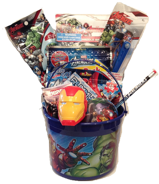 Boys Marvel Character Gift Hamper - Gift Wrapped Christmas Birthday