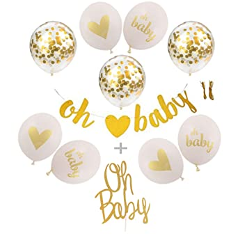Amazoncom Baby Shower Decorations Neutral Gender Reveal Party