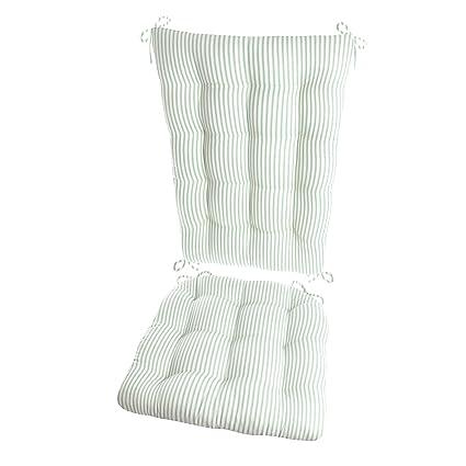 seat cushion Green Maytex Stretch Reeve Sofa or Loveseat Slipcovers 2pcs.w//sep