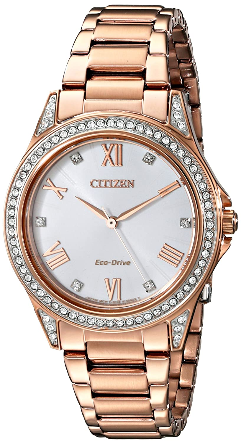 Drive From Citizen Eco-Drive Women s Watch with Crystal Accents, EM0233-51A