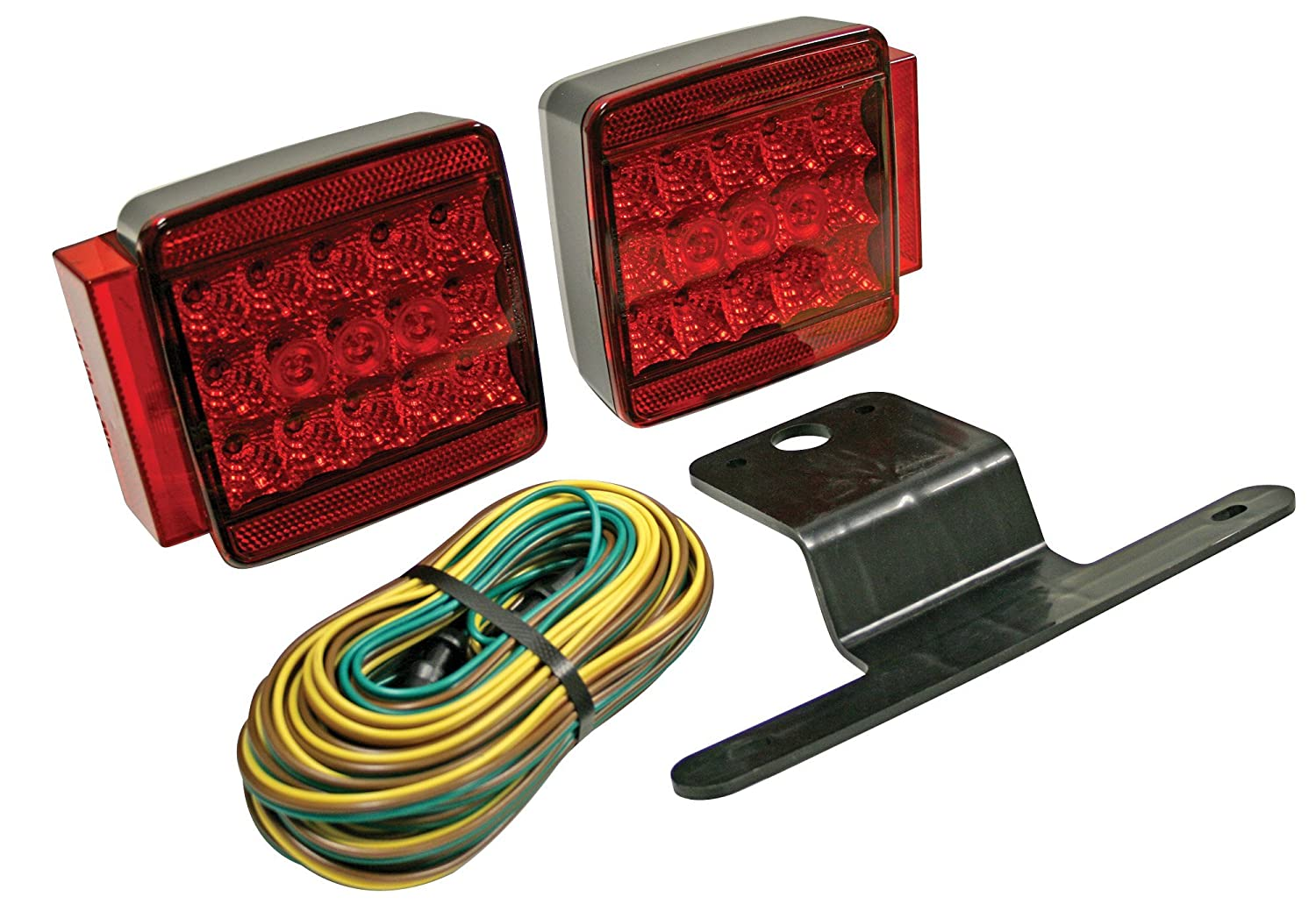 Amazon.com: Reese Towpower 73857 Submersible Trailer Light Kit (LED All  Purpose): Automotive