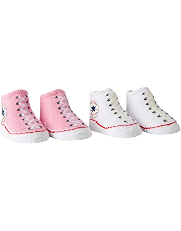 1f177f59d Converse Baby-Girls 2 Pack Booties Socks.  3