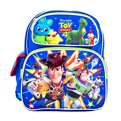 "Disney Toy Story 4 Kids Backpack Toddler Bag 12"" TS00069: Toys & Games"