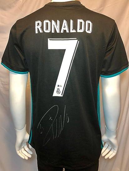 low priced b42eb d4942 Cristiano Ronaldo Autographed Jersey - Adidas BAS Beckett ...