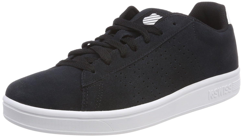 K-Swiss Court Casper SDE, Zapatillas para Hombre 44 EU|Negro (Black/White 002)