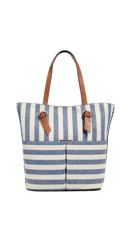 4e308576150 Amazon.com: Splendid Women's Bodega Tote, Metallic Stripe Blue, One Size:  Shoes