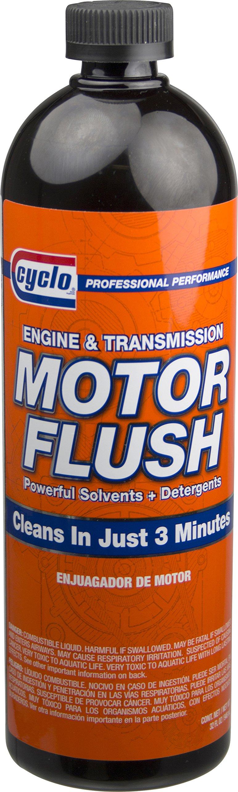 Niteo Cyclo Motor Flush: Engine & Transmission Cleaner, 30 fl oz