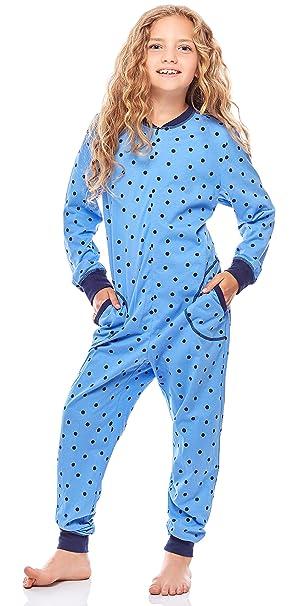 Merry Style Pijamas Enteros 1 Pieza Vestidos de Dormir 100% Algodón Niña MS10-186