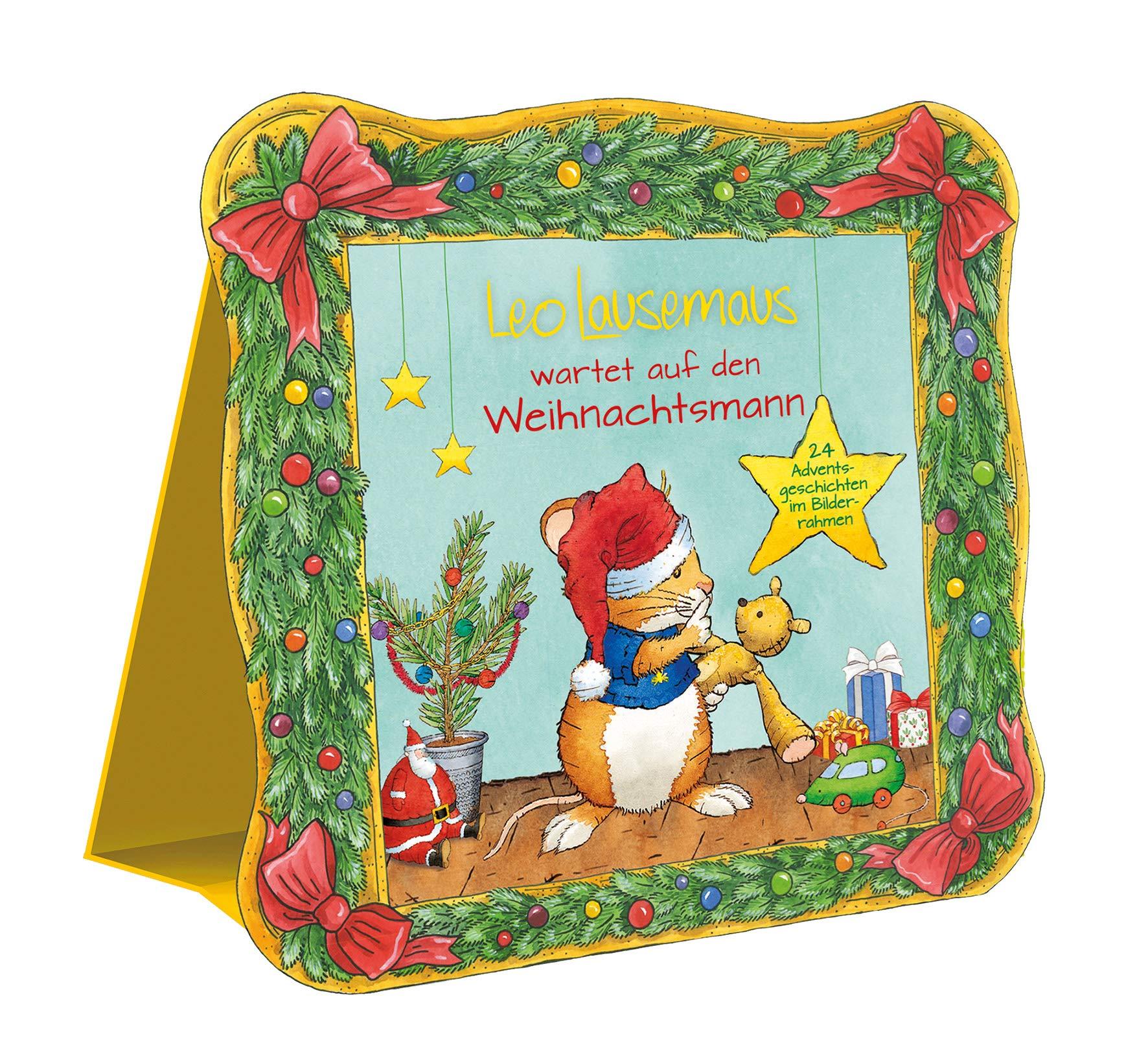 Adventsbox Leo Lausemaus 24 Wiring Library Trailer Harness On Victory Vision Tail Light Diagram Wartet Auf Den Weihnachtsmann Adventsgeschichten Im Bilderrahmen Amazonde