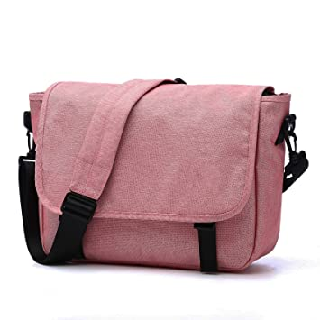 Image Unavailable. Image not available for. Color  14 inches Classic canvas Messenger  Bag, Mens ... 15b38501a3
