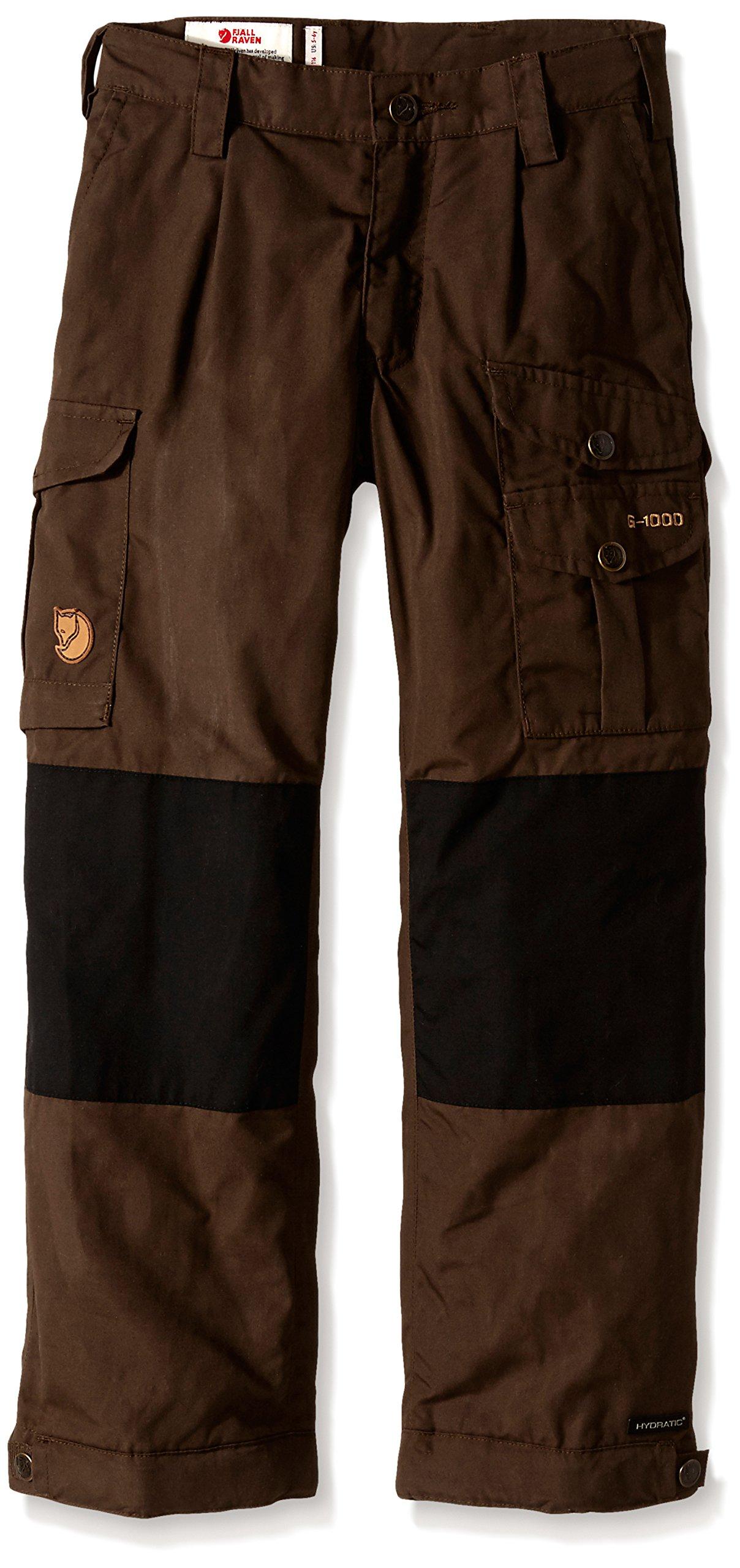 Fjallraven Kids Vidda Padded Trousers, 134, Dark Olive