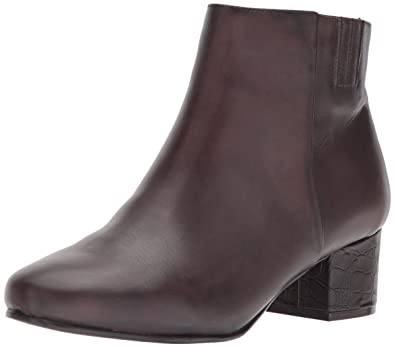 Trotters Womens Shannon Ankle Bootie Dark Brown Size 75
