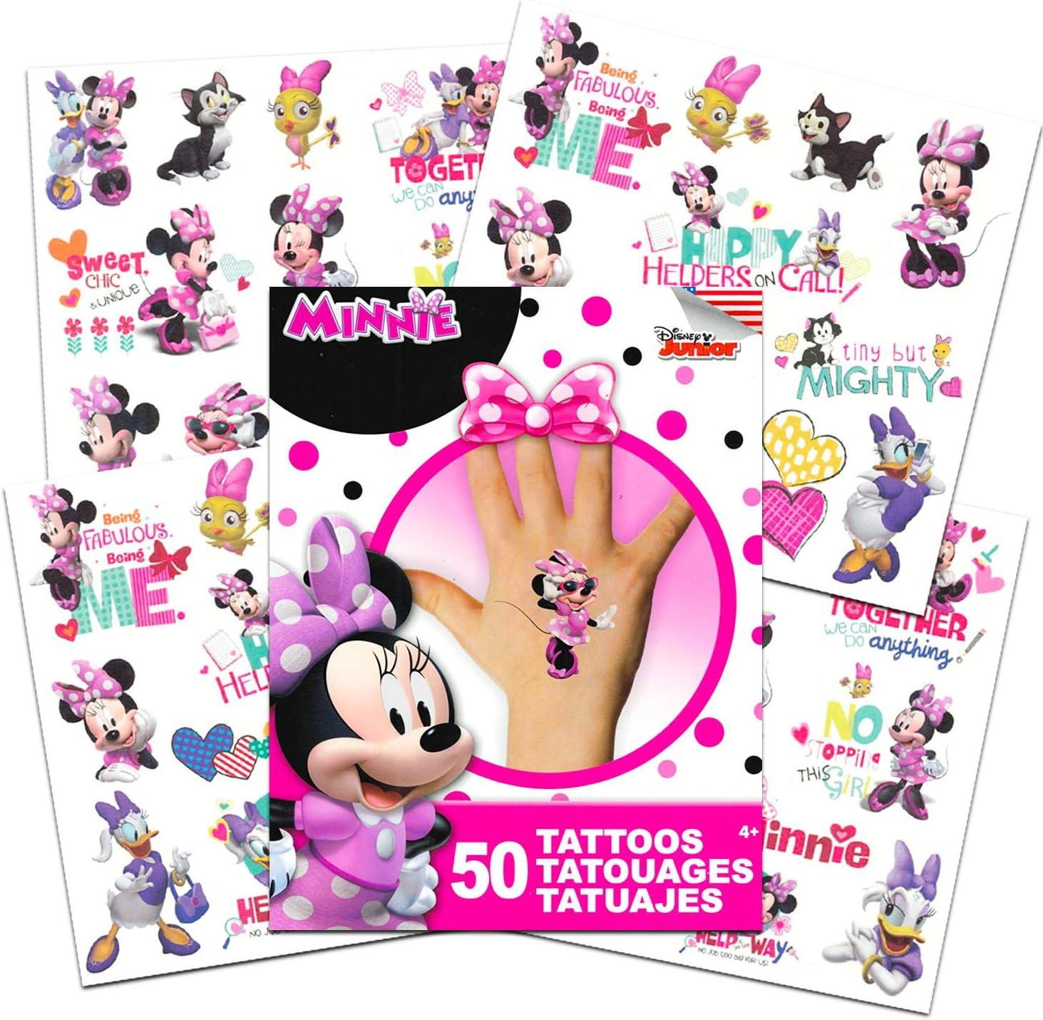 Amazon.com: Disney tatuajes Party Favor Set para las niñas ...