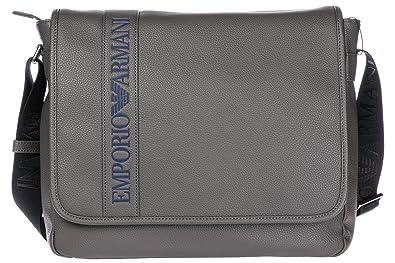 0bbc423e92d Emporio Armani sac homme bandoulière gris  Amazon.fr  Chaussures et Sacs