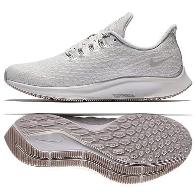 new style 2ca58 4eba5 Amazon.com   Nike Women s Air Zoom Pegasus 35 Running Shoe (8 M US, Vast  Grey Moon Particle-Summit White)   Road Running