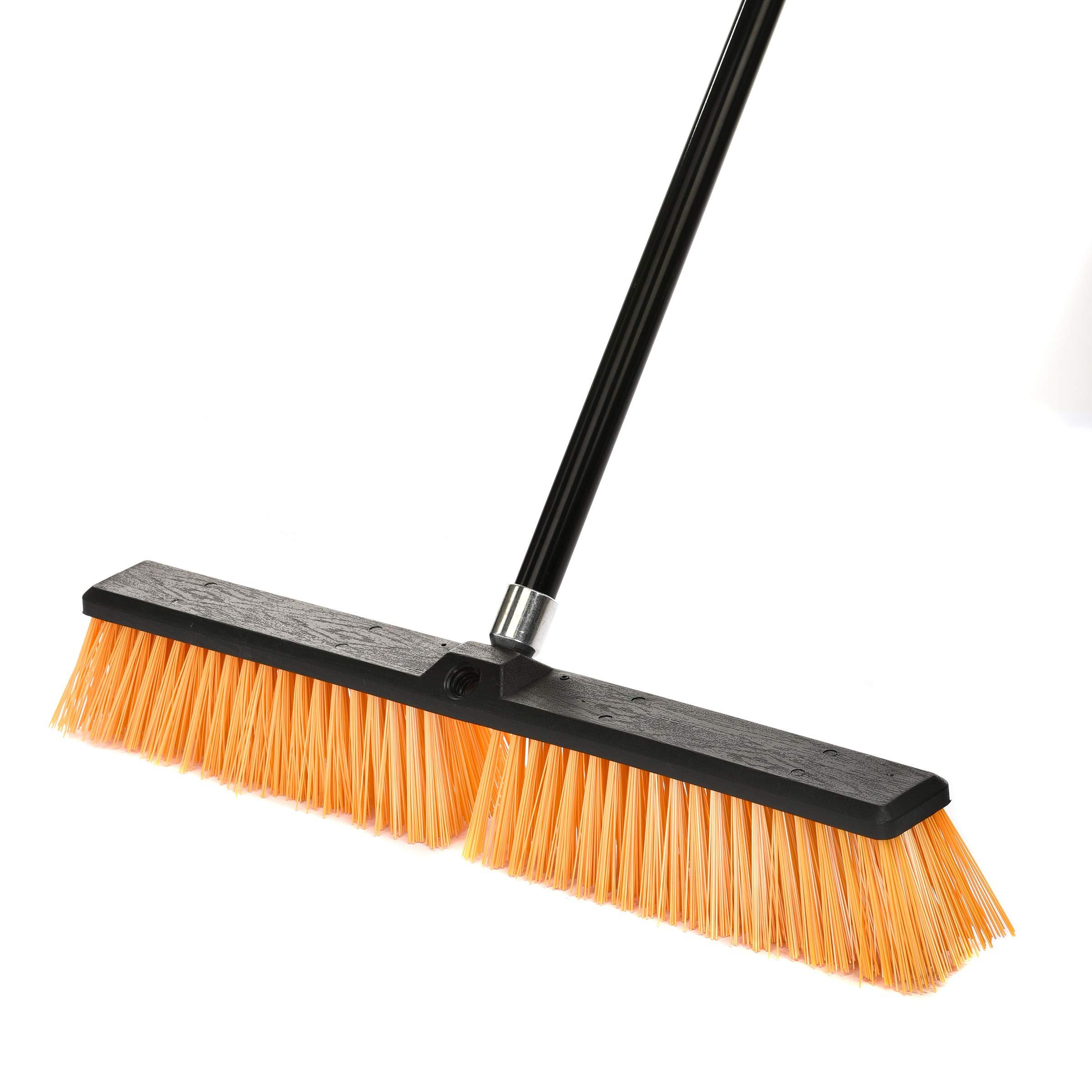 Alpine Industries Rough-Surface Push Broom (24 Inch) by Alpine Industries