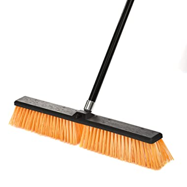 Alpine Industries Rough-Surface Push Broom (24 Inch)