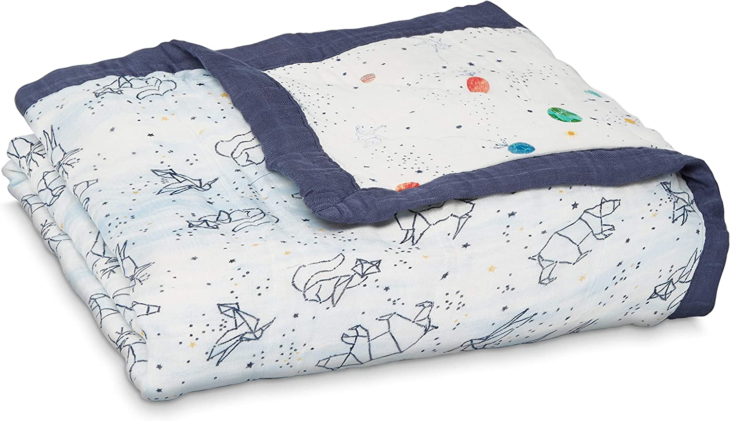 Aden + Anais 9331G Silky Soft Dream Blanket - Stargaze - Stellar, Multicolor: Amazon.es: Bebé
