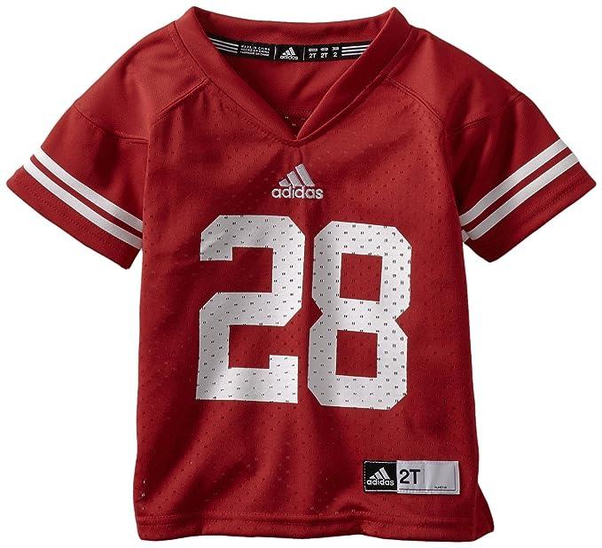 89916ac03050 Amazon.com   NCAA Wisconsin Badgers  28 Toddler Replica Jersey (Red ...