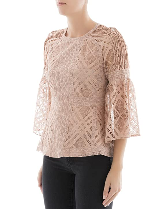 643bfa59c66 BURBERRY Chemisier - Femme - Rose - 42  Amazon.fr  Vêtements et accessoires