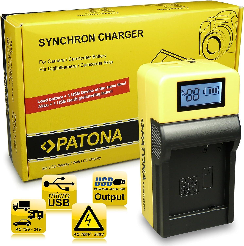 dmw-blg10-e Patona batería CARGADOR para Panasonic Lumix dmc-tz80//dmc-tz81