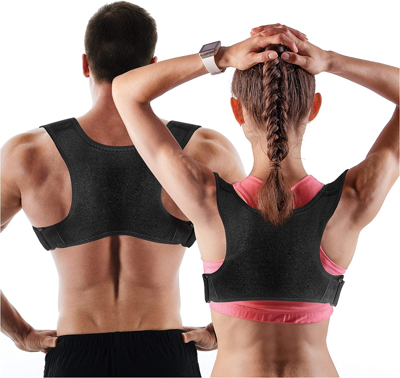 Posture Corrector Upper Back Posture Corrector for Men//Women Breathable and Durable Neoprene L Back Brace for Lower Back Pain Back Braces for Posture Correction Comfortable Wear