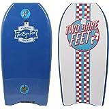 "44"" (112cm) IXPE Slick Board Bodyboard + Wrist/Ankle Strap"
