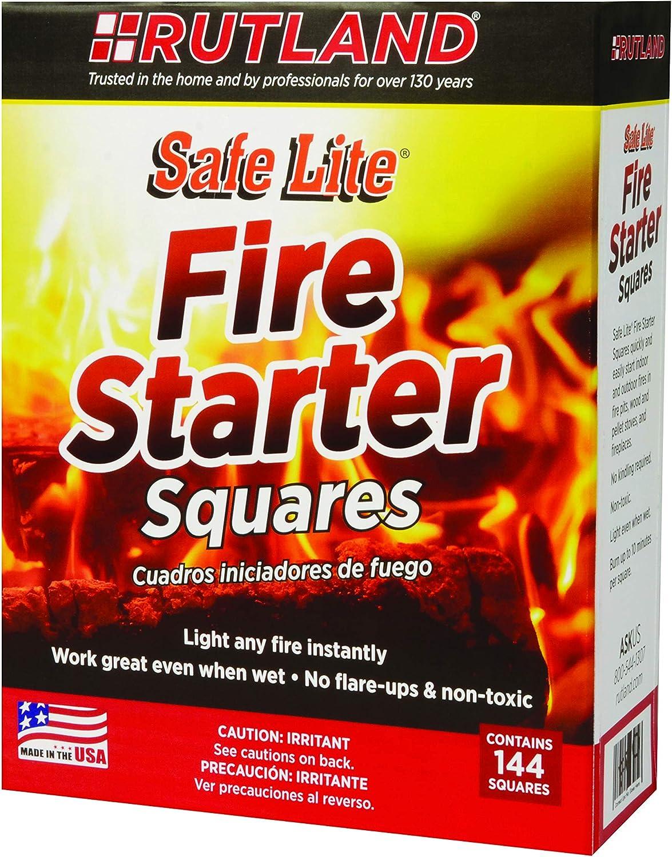 Rutland Safe Lite Fire Starter Squares
