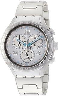 Swatch Reloj Analogico para Hombre de Cuarzo con Correa en Aluminio YYS4024AG