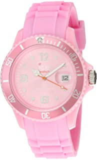 Ice-Watch Unisex SI.PK.U.S.09 Sili Collection Pink Plastic and Silicone