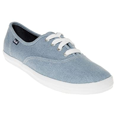 the latest 6695b 9dd3f Keds Champion Cvo Damen Sneaker Blau: Amazon.de: Schuhe ...
