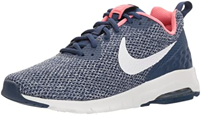 Nike Women s Air Max Motion Low Cross Trainer Navy vast Grey - sea Coral 5.0 21b4f7eb5