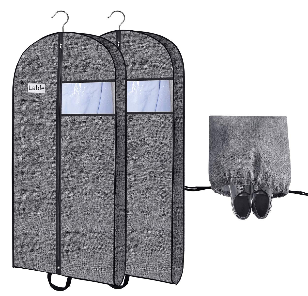 09c150f34554 Travel Garment Bags for Suits,Breathable Storage Dresses Covers 54