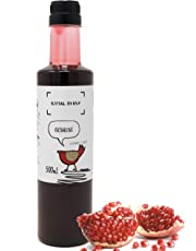 Social Syryp Grenadine Cordial Mixer - 500mL (16.9 oz)   Bar Syrup for The Master Mixologist, Free Recipe E-Book, Impress Your Guests with A Tequila Sunrise Cocktail, Product of Canada