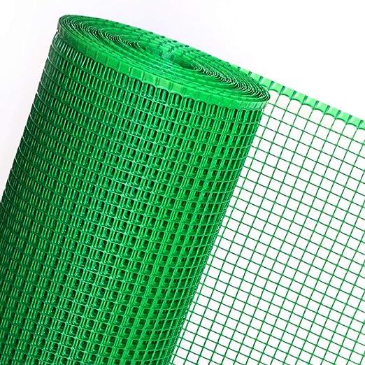 Goplast - Malla (1,2 m de ancho, plástico, se vende por metros), color verde: Amazon.es: Jardín