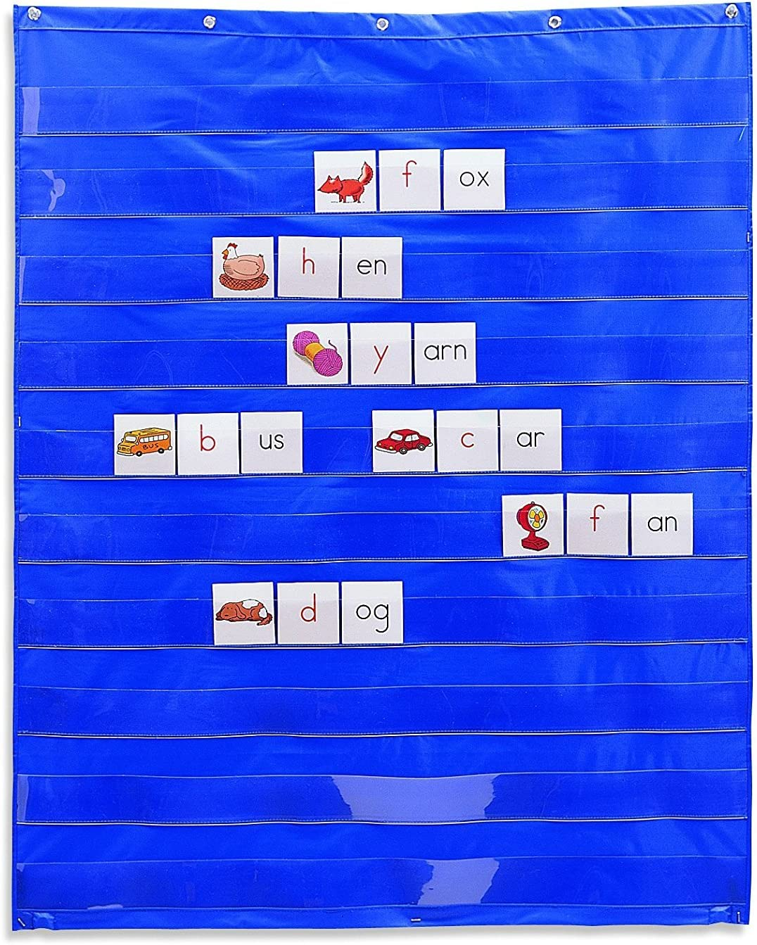 Learning Resources Standard Pocket Chart, Classroom Supplies, Homeschool, Gifts for Teachers, Pocket Chart, Ages 3+