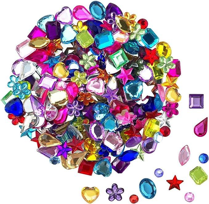 JPSOR Gems Acrylic Flatback Rhinestones Gemstone