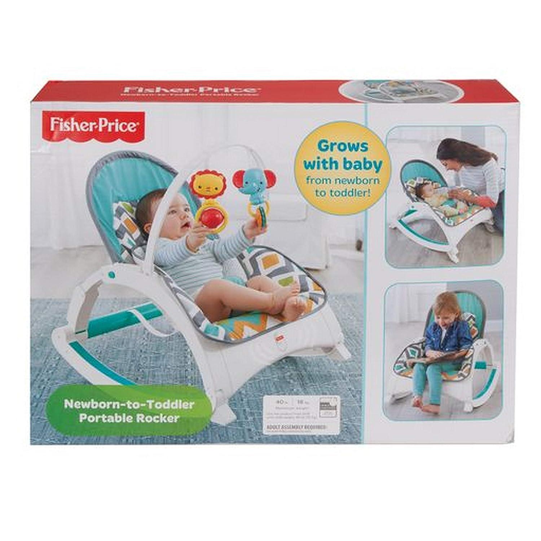 Glacier Wave Fisher-Price Newborn-to-Toddler Rocker Exclusive